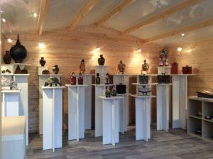 Espace d'exposition vente de l'atelier